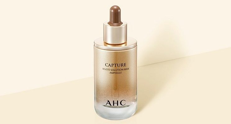 Serum AHC Capture Revite Solution Max Ampoule màu vàng chống lão hóa