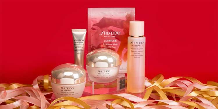 Bao bì mỹ phẩm Shiseido
