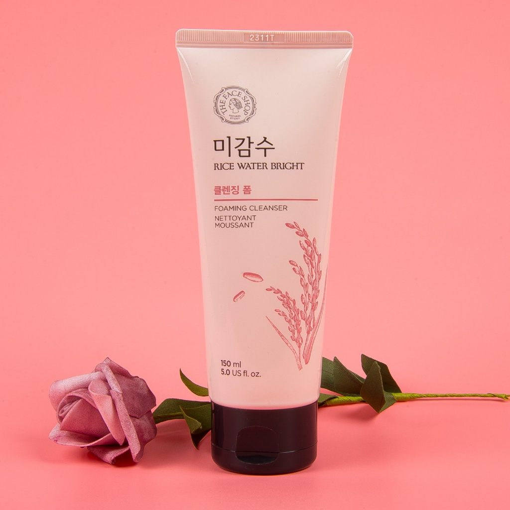 Sữa rữa mặt The Face shop Rice Water Bright Foaming Cleanser